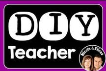 DIY Teacher / Welcome! We hope you find some inspirational teaching ideas & resources while you're here. To collaborate with us, follow us and email your Pinterest link and the name of the board(s) you are interested in to NicoleAndEliceo@gmail.com Pinners, please DO limit pins to three per day, pin a variety of items and write thoughtful descriptions. Please DON'T repin items, pin paid products or invite others to this board. Thanks & happy teaching! / by Nicole and Eliceo