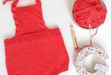 PUNTO Y GANCHILLO, knit and crochet