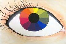 Portret - oči