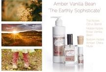 """Amber Vanilla Bean - The Earthy Sophisticate - By Tulip Perfume / """"The Earthy Sophisticate"""" top notes: citrus blend  middle notes: rose, vanilla bean  bottom notes: amber, china musk"""