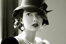 Vintage style cloche hats / Hats. I'm a hat lady. I love hats. In particular I love cloche hats.