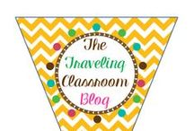 The Traveling Classroom Blog / The Traveling Classroom Blog features educational resources, activities, games, ideas, and tips from an experienced teacher. Visit at: http://thetravelingclassroom.blogspot.com/