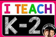 I Teach K-2 / Welcome! We hope you find some inspirational teaching ideas & resources while you're here. This board is a collaborative effort by K-2 bloggers from around the world. Pinners, please DO limit pins to three per day, and pin a variety of items. Please DON'T repin, or pin paid products, flash freebies, giveaways or sales ads. TO JOIN, email us at NicoleAndEliceo@gmail.com Thanks & happy teaching!