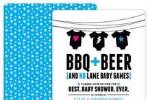 inspiration | bbq + beer = best. baby shower. ever. / ideas and inspiration for a fun couples baby shower.