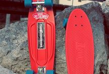 Penny boards / Longboards, penny boards and other skating stuff / by Vintage_misery