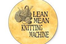 Knitting - Machine / It is not necessary to know the language, if you read the instructions.