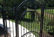 Wrought iron projects / Here are some ideas of what you can expect from wrought iron projects built by Grandviewgates.ca