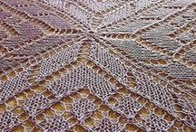 Knitting - Lace, doily, table cloth