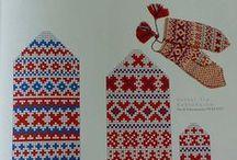 Knitting - Mitten pattern
