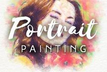 Portrait Painting / Stunning, fabulous, extraordinary and breathtaking portraits. Order your painted portraits ➡ http://drawberry.com/orders/add
