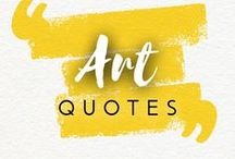 Art Quotes / Did you find the best art quote ever? Share with Drawberry!