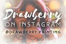 Drawberry on Instagram @drawberry.painting / Follow us on Instagram ➡ https://www.instagram.com/drawberry.painting/