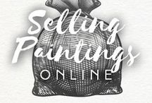 Selling Paintings Online / Drawberry found the best websites for artists to get new customers at