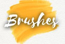 Brushes / Brushes are an artist's main instrument. They can be used to create any effect.