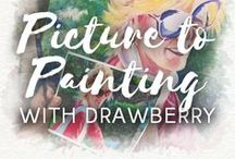Picture to Painting with Drawberry / Drawberry is a unique platform connecting people who love art and talented artists from all over the world. Drawberry is always ready to turn any picture to painting ➡ https://www.drawberry.com/land/v_4/