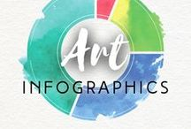 Art Infographics / Artists understand visual information better, don't they?