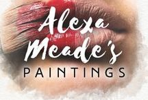 Alexa Meade's paintings / The Los Angeles artist creates mind-boggling works of art on humans. She paints directly onto the bodies and faces of models, using brushstrokes and shadows to camouflage figures into their background, turning a 3D scene into a 2D image.