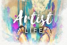 Artist Life / An artist's life is full of color. Drawberry wants all of you to have a colorful day every day!