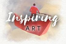 Inspiring Art / Feel the inspiration in the air with Drawberry! Discover Fun, Fresh and Fascinating Art Stories ➡ https://www.drawberry.com/blog/posts