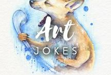 Art jokes / Share your favorite jokes with Drawberry