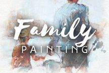 Family Painting / Your family is your treasure. Preserve those cherished memories by getting a great family painting from Drawberry.