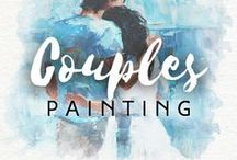 Couples Painting / How about a cool present for your spouse or partner? You can turn any special moment of your life into a real masterpiece. Just give Drawberry your photo and the most talented artist will paint your custom picture.