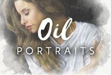 Oil Portraits / There are more than 300 artists registered on Drawberry and ready to turn your photo to oil painting