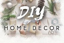 DIY Home Decor / Wow! Some ideas are just awesome! Definitely need to try them.