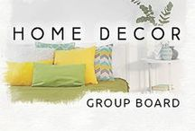 Home Decor | Group Board / Welcome to Home Decor Board! Here we share interesting tips about home decor & design ideas. Follow us to get every day inspiration!