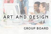 Art & Design | Group Board / I am happy to see you here! Every day new fantastic art ideas. Follow us!