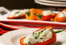 Peppers / Recipes that include peppers as a central ingredient.