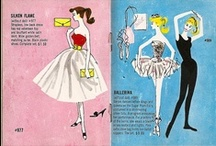 Vintage Barbie outfits