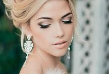 Bridal makeup / Inspiration for beautiful makeup on your wedding day! Do you want a natural and subtle look? Smokey eye? Or a BOLD liner & lip? The possibilities are endless. Schedule your make-up trial today with Lauren Stefan! ♥  www.laurenstefan.com