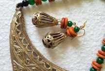 Jewelry  / This is a collection of dhokra and terracotta jewelry. Love, Repin it and wear it. For entire collection www.miharu.in