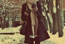 Fall & Winter... / Gotta stay cute and comfy when it's cold out right?!