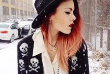 Grunge & edge / Can I just live in these clothes? Like every day?? Please?!?! ♥