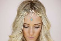 Hair Accessories - Lauren Stefan / Whether it's bling, flowers feathers or something more unique you are looking for! Check out the wide variety of hair accessories at www.haircomesthebride.com and use coupon code: LaurenStefan for 10% off your purchase!! ♥ www.laurenstefan.com