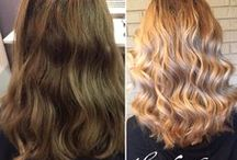 Hair Styling, Before and After / All before and after hair photos that we have styled here at Fantasia!