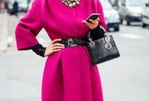 Фуксия / Hot pink / С чем носить ярко розовый цвет