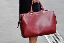 Сумки Марсала / Marsala bag / С чем носить сумки цвета марсала ( сумки бордового винного цвета )