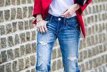 Джинсы / Jeans / как и с чем носить рваные джинсы джинсы бойфренды, джинсы клеш, джинсы с высокой посадкой