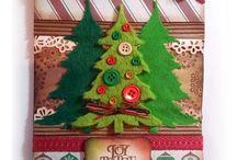 Christmas / Home decor for Christmas, Christmas card,  Christmas ornaments, DIY Christmas tree, Christmas centerpiece, candle, decorazioni di natale, cartoline natalizie, ornamenti, albero di natale, centro tavola natalizio, candele / by Annalisa Acciai