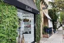 #ElodieK on Melrose Place / A concept store on Melrose Place curated by Elodie Khayat which holds her own jewelry line Elodie K Jewelry and some of her favorite luxury designers from around the world