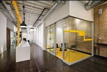 Office interiors / Cool ideas for office spaces and furnishings