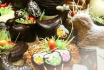 Ostern/ Easter / Schönes zu Ostern aus unserer Schokoladen-Manufaktur, Konditorei und Kaffeerösterei / Great things to eat and drink not only for Easter holidays from our chocolate manufacture, pastry shop and, coffee roast house