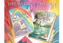 I AM  Energy Healing Books for Families by Roseanne D'Erasmo Script / As an author I produce books for families and those new to energy healing  for easy access to chakra, meditation and energy healing information.