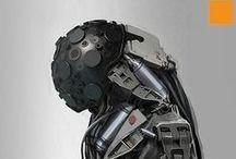 Cyberpunk / Cyberpunk, Cybernetics and Androids.