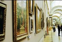 Paintings housed at the Louvre Museum / ~ All images are copyrighted by their respective authors ~ / by Eileen Bell