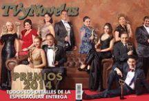 Premios TvyNovelas 2014. Especial impreso / Imágenes del especial impreso realizado por TvyNovelas de los Premios TvyNovelas 2014.  / by Alejandro Speitzer