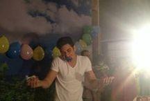 Cumpleaños 18 - Alejandro Speitzer / La producción de la telenovela Mentir Para Vivir festejó la legalidad de Alejandro Speitzer, o sea, su cumpleaños 18 en el foro de grabación de la telenovela. 31/05/13 / by Alejandro Speitzer